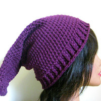Gnome Hat Purple Adult Pointy Hat