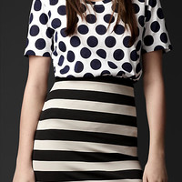 Dotted Cotton T-shirt