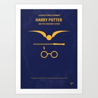 My Harry Potter minimal movie poster Art Print by Chungkong