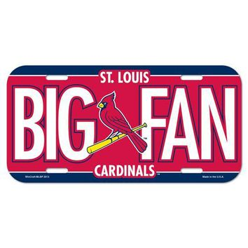 St. Louis Cardinals License Plate