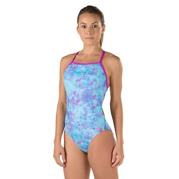 Printed One Back (Purple) - Speedo Endurance Lite | Speedo USA