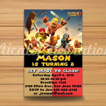 Gaming Clash of Clans - Digital File