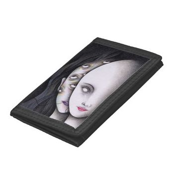 Eyes Tri-fold Wallets