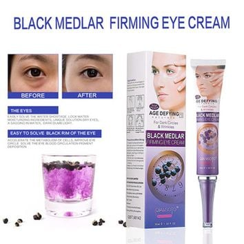 Black Medlar Firming Eye Cream For Eye Anti Dark Circles Advanced  Eye Remove Dark Circles Under Anti Aging Eye Cream 30g