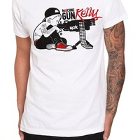 Machine Gun Kelly Ready Aim Fire Slim-Fit T-Shirt - 920204