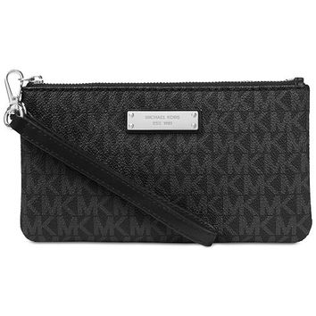 Michael Kors Signature Jet Set Item Medium Wristlet & Reviews - Handbags & Accessories - Macy's