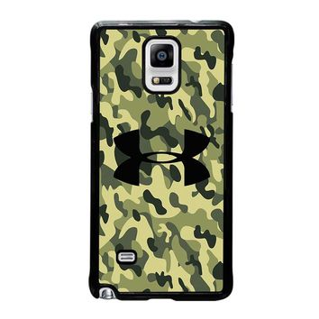 CAMO BAPE UNDER ARMOUR Samsung Galaxy Note 4 Case Cover