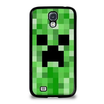 creeper minecraft 2 samsung galaxy s4 case cover  number 1