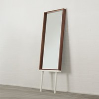 'Hans' Long-Legged Mirror in Walnut - Mirrors - Mirrors