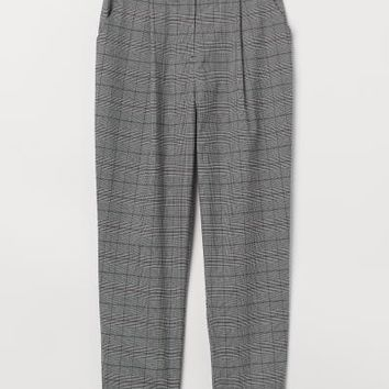 Dress Pants - Black/checked - | H&M US