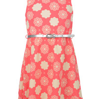 "Cookie's Kids > Colette Lilly Big Girls' ""Flower Song"" Belted Dress (Sizes 7 – 16)"