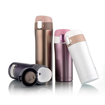 350ml/500ml Stainless Steel Thermos Cup Travel Insulated Thermal Mug Vacuum Flask Office Car Coffee Tea Water Bottle