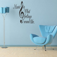 Party  Words Art Music Treble Clef Partyrational by superdecals1