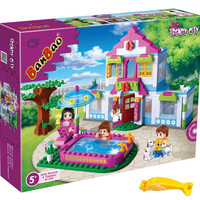 BanBao 6109 Dream House 405pc (Lego Compatible) with Brick Remover