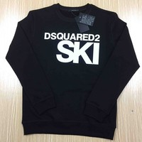Dsquared2 Fashion Trending Long Sleeve Letter Print Long Sleeve Sweater G-KWKWM