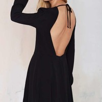 Nasty Gal Stop Short Cutout Dress