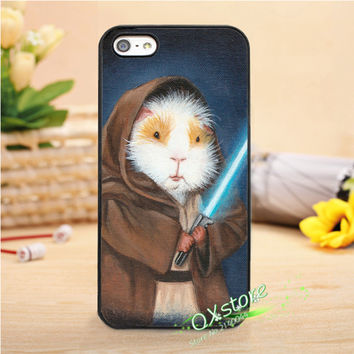 star wars guinea pig yoda fashion phone cover case for iphone 4 4s 5 5s SE 5c 6 6s 7 6 plus 6s plus 7 plus #Q539