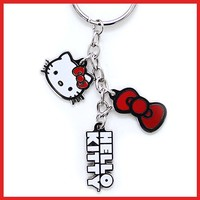 Hello Kitty 3 in 1 Charm Key Chain