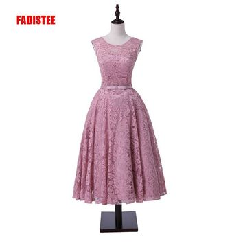 New arrival formal party evening dresses Vestido de Festa lace- 45f2c61f2bae