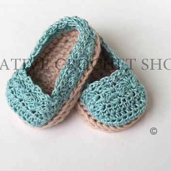 Tiffany Blue Baby & Toddler Girl Espadrilles (Crochet baby shoes, Gender reveal photos, Baby shower gift, Summer shoes, First birthday)