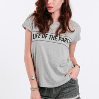 Life Of The Party Tee By MINKPINK