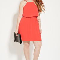Plus Size Crisscross Dress | Forever 21 PLUS - 2000182565