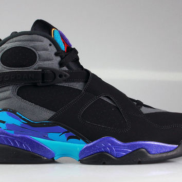 Air Jordan Men's 8 VIII Retro Aqua 2015 Release