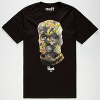 Neff Fresh Girl Mens T-Shirt Black  In Sizes
