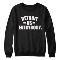 Detroit VS Everybody Eminem Shady Marshall Crewneck Sweatshirt