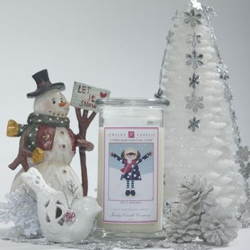Let It Snow Jewelry Candles