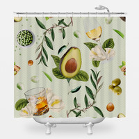 Dinner and Drinks Shower Curtain