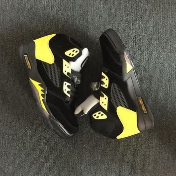 "Air Jordan 5 ""Oregon"" PE Men Basketball Shoes Sneaker"