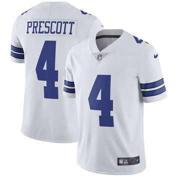 Youth Dallas Cowboys Dak Prescott Nike White Vapor Untouchable Limited Player Jersey