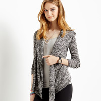 Aeropostale  Womens Hooded Drape Cardigan