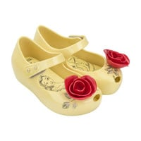 FREE SHIPPING! Little Girls Jelly Shoes Inspired by Beauty and the Beast. Rose, Mrs. Potts, Chip