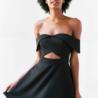 Keepsake Apollo Cutout Off-The-Shoulder Mini Dress - Urban Outfitters