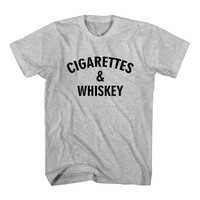 T-Shirt Cigarettes And Whiskey