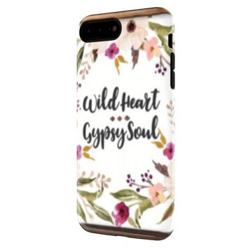 Wild Heart Gypsy Soul - iPhone 7 Plus Tough Case