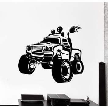 Vinyl Wall Decal SUV Truck Big Car Jeep Rover Garage Decor Stickers Mural (g983)