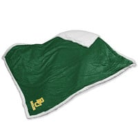 Baylor Bears NCAA Soft Plush Sherpa Throw Blanket (50in x 60in)