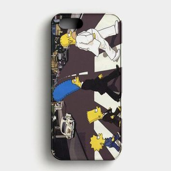 The Simpsons A Tribute The Beatles iPhone SE Case