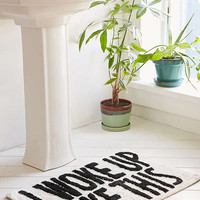 I Woke Up Like This Bath Mat | Urban Outfitters
