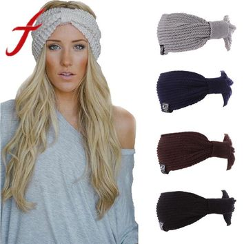 Warm Winter Hat For Women Ladies Ponytail Baggy Beanie Women Stretch Cable Wool Knitted Messy Bun Hats Slouchy Chic Cap Headwear