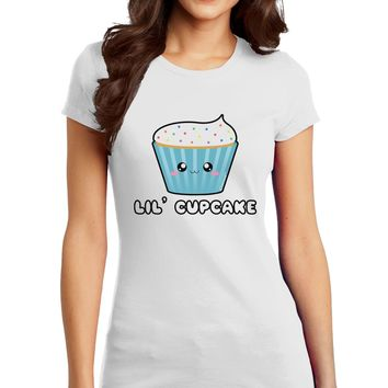 Cute Cupcake with Sprinkles - Lil Cupcake Juniors T-Shirt by TooLoud