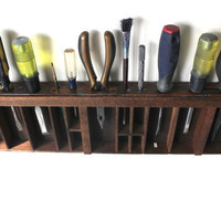Printer drawer Tool Display by bluebirdheaven on Etsy