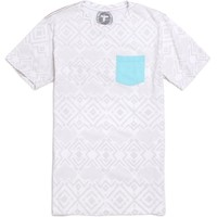 Topo Ranch Wired Pocket T-Shirt - Mens Tee - White -