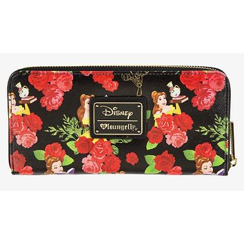 Disney Beauty & the Beast Wallet by Loungefly New with Tags