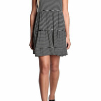 Blake Striped Tiered Dress