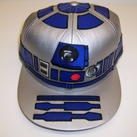 Star Wars R2-D2 Mens Special Edition Fitted Cap