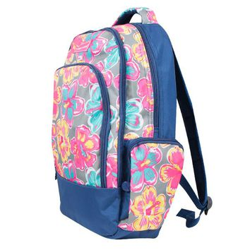 "Simply Southern ""Floral"" Backpack"